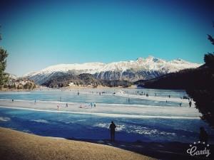 Sankt Moritz - lago ghiacciato